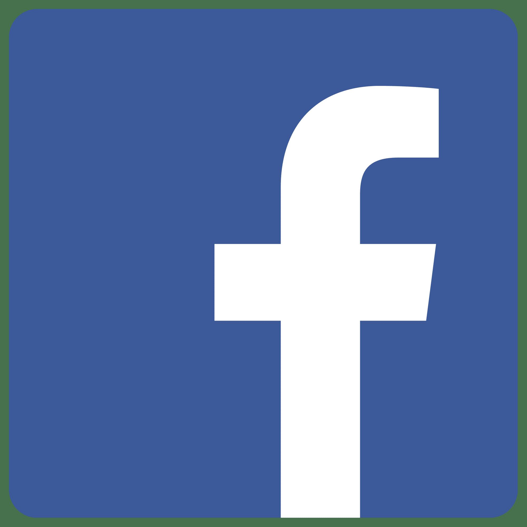 facebook icon transparent background 3